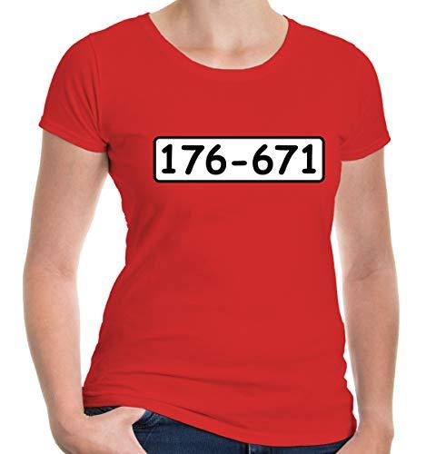lie T-Shirt Bankräuber Kostüm | Fasching | S, Rot ()