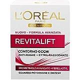 L'Oréal Paris Contorno Occhi Revitalift, Azione Anti-Rughe con Pro-Retinolo Avanzato, 15 ml
