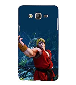 printtech Takken Game KO Anime Back Case Cover for Samsung Galaxy On7