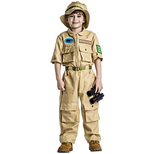 Kostüm Dress Junge Up Kleiner - Dress Up America Jungen Zookeeper Kostüm