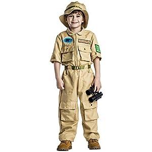 Dress up America Disfraz de zoológico de niños