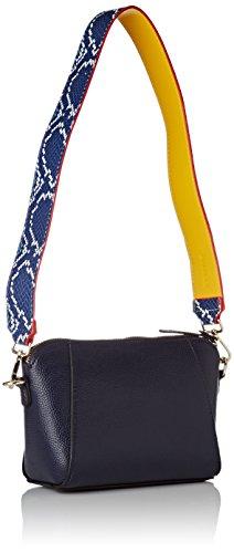 Bulaggi Damen Hartley Crossbody 6/Pack Umhängetasche, 14x08x18 cm Blau (Dunkel Blau)