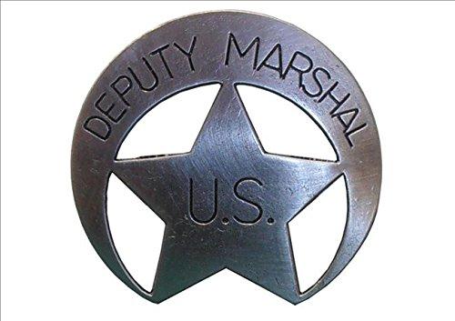 Preisvergleich Produktbild Denix US Deputy US Marshal Stern messingf. Sheriff Cowboy Western