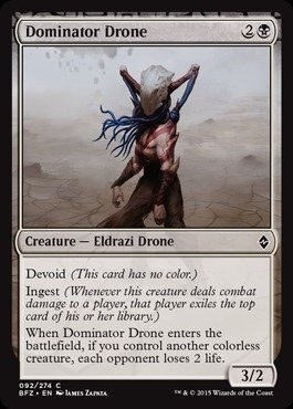 Magic: the Gathering - Dominator Drone - Battle for Zendikar - Foil by Wizards of the Coast