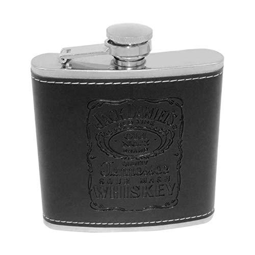 Bureze - Juego de Vasos de Embudo de Acero Inoxidable para Whisky y Vino, 6 Estilos