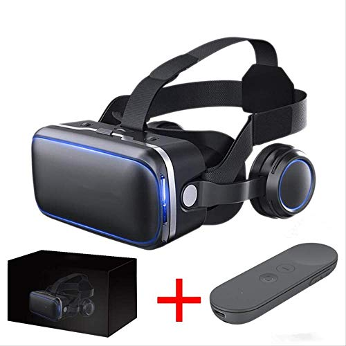 Vr Occhiali da realtà virtuale Occhiali da sole Google Cardboard Vr Headset Box Occhiali Casco per Smart Phone   Bundle 6