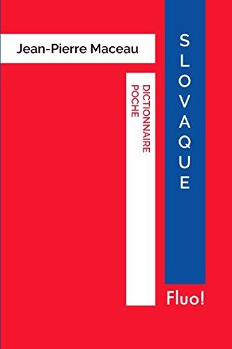 Dictionnaire Poche Slovaque par Jean-Pierre Maceau