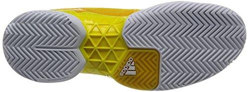 adidas Herren Barricade 2017 Tennisschuhe Gelb (Eqt Yellow/Footwear White/Bright Yellow) XcAjJF