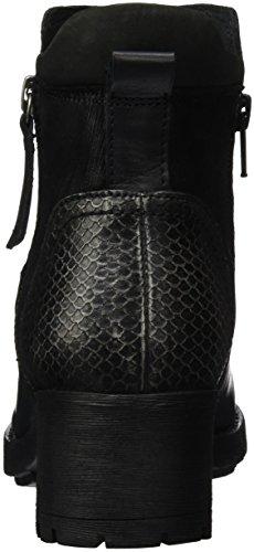 Unbekannt Stiefelette, Bottes Classiques femme Noir - Noir (000)