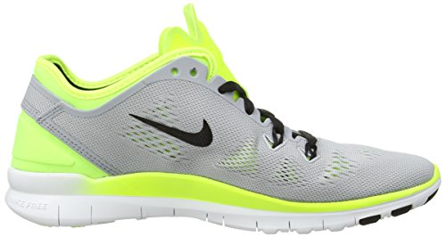 Nike Free 5.0 Tr Fit 5, Fitness Adulte Mixte Gris (Wolf Grey/Black-Volt)