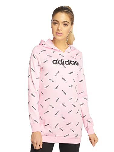 adidas Originals AOP Kapuzenpullover Damen Altrosa/schwarz, XL