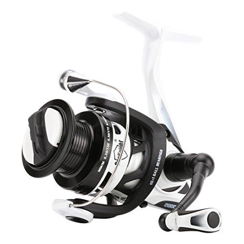 SeaKnight Phantom ultralmodern Spinning Fishing Reel - Metall Körper, Carbon Rotor 6,2: 1 - Schneller, stärker Angelrolle mit Metall, Flache Ersatzspule