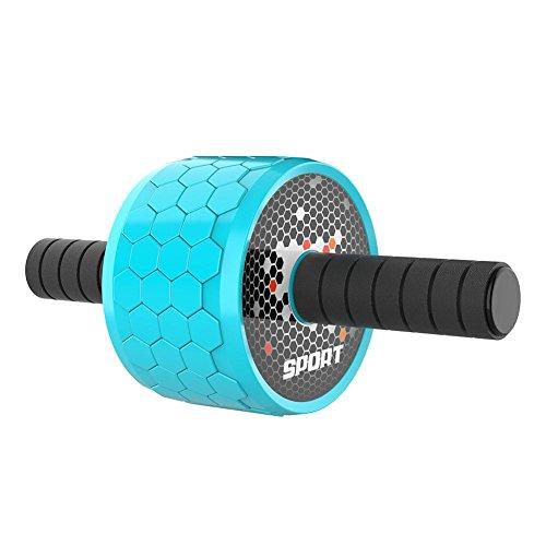 Anna-neek Bauchmuskel Roller Gerät AB Roller Wheel Riesig Bauchroller Bauchtrainer Gerät Roller Training Roller Sehr Leise für Fitness Bauchmuskeltraining Muskelaufbau Bauchroller