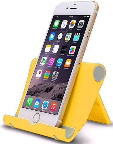 Lucklystar Tragbarer Ständer Tablettständer mit verstellbarem Betrachtungswinkel für Tablets, E-Reader und Handys Ständer, Phone Holder Telefon Ständer, Multi-Winkel Von 0 bis 270 Ständer Halter
