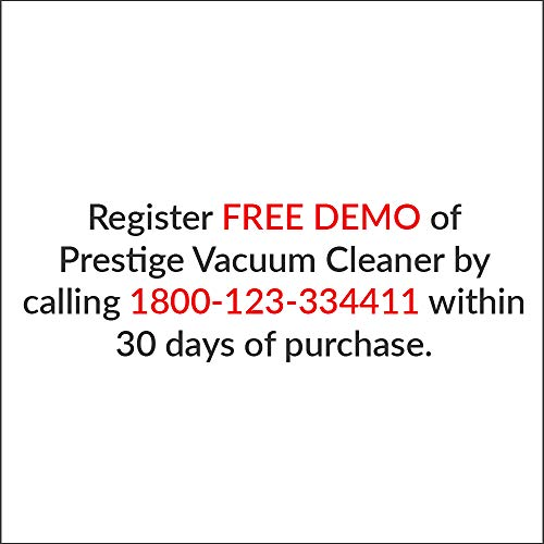 Prestige Clean Home Wet and Dry Vacuum Cleaner (Black)