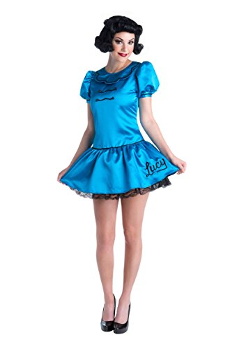 Women's Deluxe Lucy Fancy dress costume (Peanuts Für Kostüme Erwachsene)