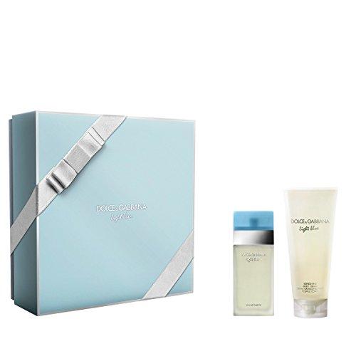 Dolce & Gabbana Light Blue Geschenkpaket (EDT Spray 50ml + Body Cream 100ml) -