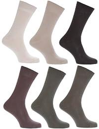 Chaussettes 100% coton (lot de 6 paires) - Homme