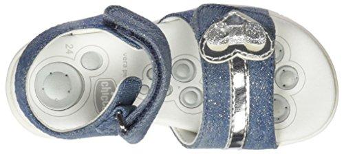 Chicco Cipriana, Sandali Bimba Blu (Jeans)