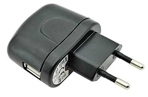 USB Ladegerät Lade Adapter Ladestecker Netzteil (1000 mA) für Alcatel OneTouch Watch / LG G Watch / Motorola Moto 360 / Asus ZenWatch