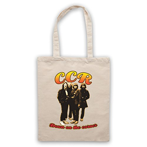 Inspiriert durch Creedence Clearwater Revival CCR Down On The Corner Inoffiziell Umhangetaschen Naturlich