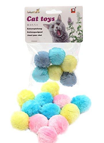 Fashion 's Talk Cat Toys Furry Rassel Ball für Kitty