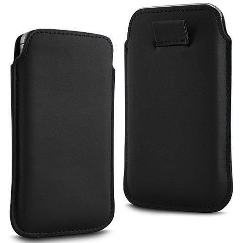 N4U Online®–Motorola Razr HD XT925Premium PU Leder ziehen FLiP TAB Schutzhülle Cover - Motorola Razr Fall