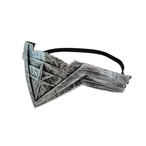 hou zhi liang 1 x Movie Wonder Woman Stirnband für Damen, Cosplay-Kopf-Zubehör, Requisite (Silber)