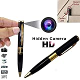 garima electronics UPDATED MODEL Spy Full HD Hidden Video/Audio Home Security Recording, Sound Clarity Pen Camera with Memory Card Inserting Facility with Data Transfer Cable