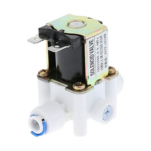 Homyl 24V DC 1/4 Zoll elektrisches Magnetventil gereinigtes Wasserventil 0-0.8Mpa -