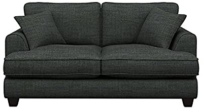 Cavendish Upholstery Cambridge 2-Seater High Back Sofa Chair - Charcoal by Cavendish Upholstery