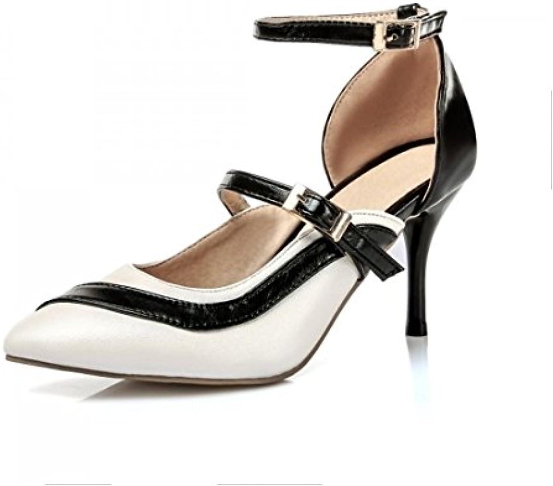 Femmes Boucle Pointues Chaussures Avec Printemps S Été Aikaka Bien 7IdZx70