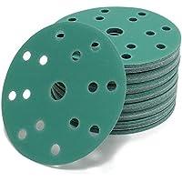 Woltersberger Muela Abrasiva 150mm Oro Verde Rojo - Green, P100