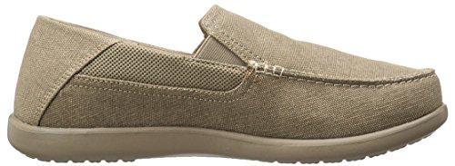 Crocs Santa Cruz 2 Luxe M, Sneakers Basses Homme Khaki-Khaki
