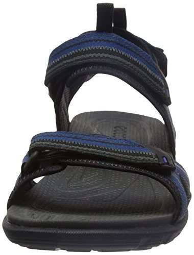 Ecco Cruise, Chaussures Multisport Outdoor Homme Bleu (59979Poseidon/Black)