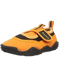 Playshoes Zapatillas de Playa con Protección UV Neon, Zapatos de Agua Unisex niños