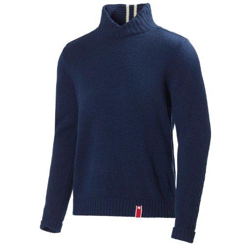 Helly Hansen Skagerak Cable Knit Sweater Herren Pullover S blau