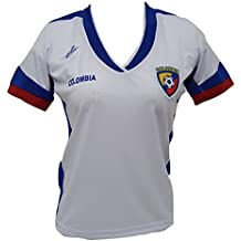 Arza Sports Colombia Slim Ladies fútbol Jersey diseño Exclusivo Copa América 2016