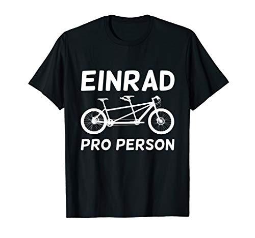 Für alle Tandem Fahrer: Ein Rad pro Person T-Shirt