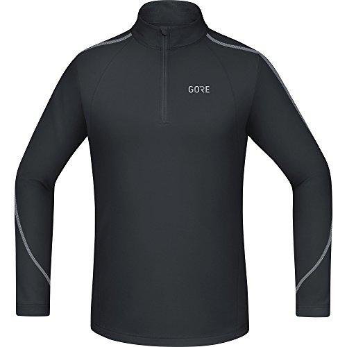GORE WEAR Herren R3 Zip Shirt Langarm, Black, M Preisvergleich