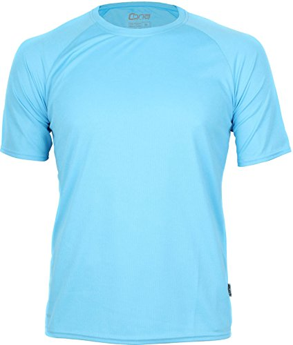 Basic Funktions - Sport T-Shirt in vielen Farben Clear Blue