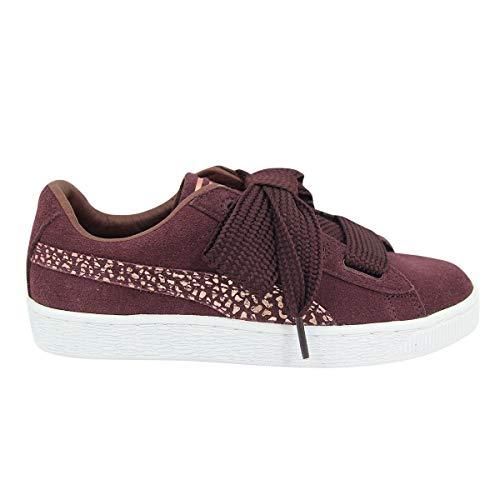 Puma Suede Heart Animal Kinder Madchen Sneakers Schuhe (Puma Suede Lila)