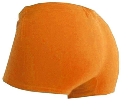 Flirty Wardrobe Mini-Short Short Stretch-forme de danse couleur Neon Gym Cycle sexy 8–16 Orange - Orang