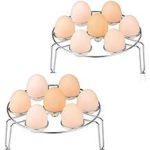 Cestas Huevos, Egg Baskets Hueveras Soporte para Rack Inoxidable Vapor Rack Soporte Cesta para Huevos