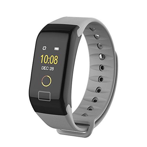 Cooljun F1 Smart Watch Armband Farbe Bildschirm Farbe Fitness Blutdruck Sauerstoff Pulsmesser Schlaf Überwachung Bluetooth Smart Watch