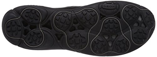 Geox U Nebula A Herren Sneakers Schwarz (Blackc9999)