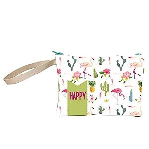 ARTEMODEL Cactus flamencos Happy Neceser, Multicolor (1)