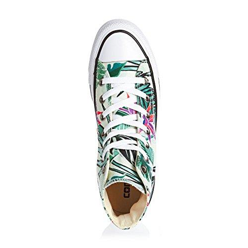 Converse Ctas Hi, Sneakers Femme Multicolore (Fiberglass/menta/white)