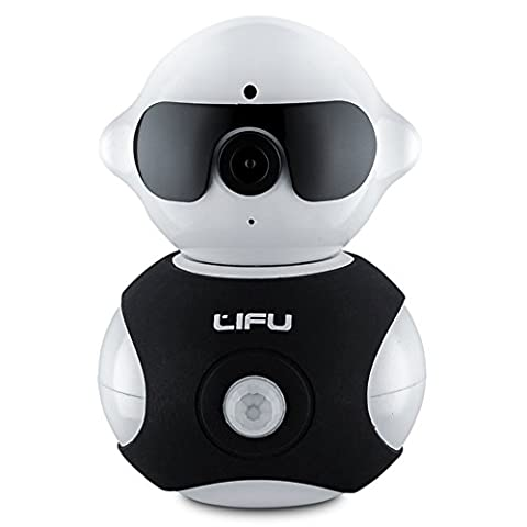 Wireless IP Camera, LiFu 960P Home Security Surveillance HD Pan and Tilt WiFi Camera Built-In Microphone with Night Vision for Pet, Baby Video