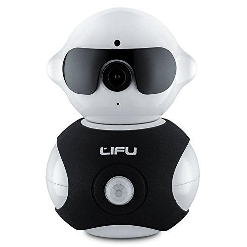Wireless telecamera IP, Lifu - Mini Robot Home microfono integrato con visione
